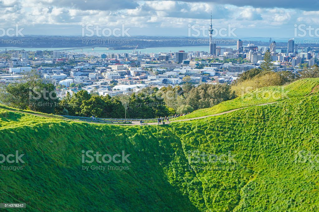 Mount Eden Mauri 's Sanctuary stock photo