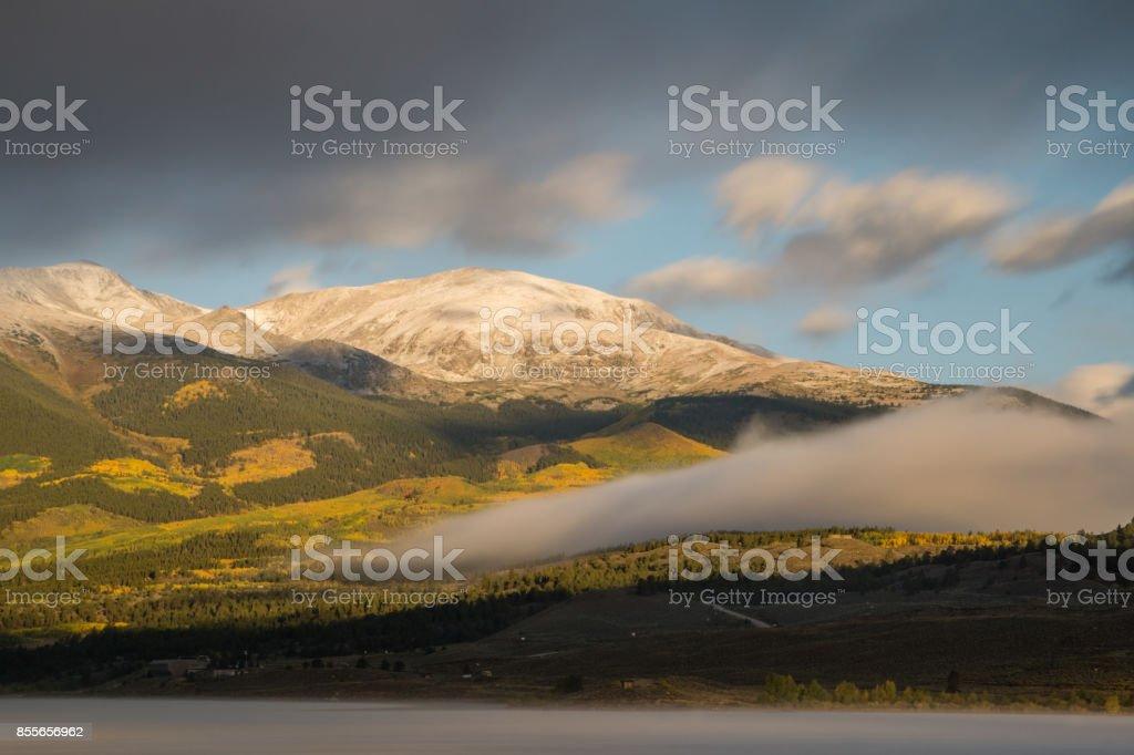 Mount Elbert - Colorado stock photo