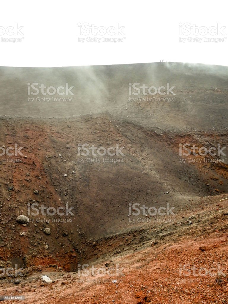 Mount Etna - Sicily royalty-free stock photo