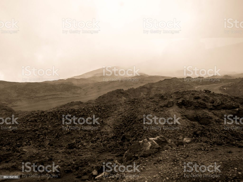 Mount Etna - Sicily royalty-free stock photo