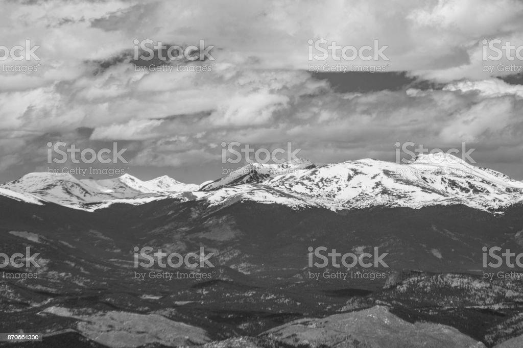 Mount Evans stock photo