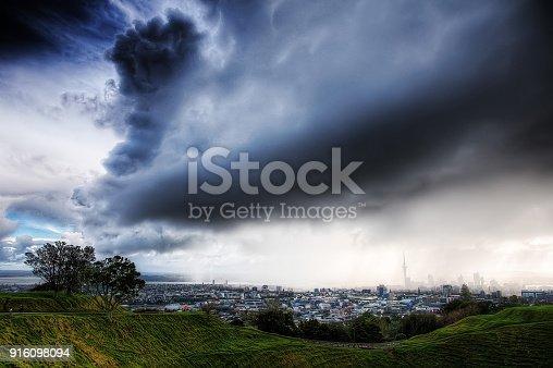 Mount Even Auckland Thunder Srorm taken in 2015