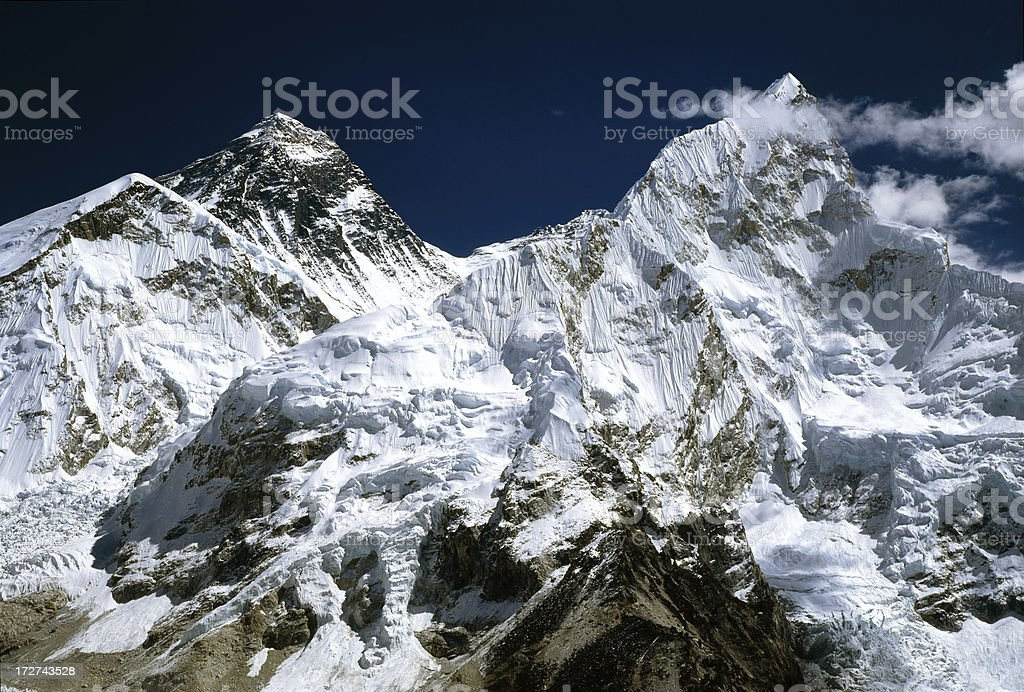Mount Everest royalty-free stock photo