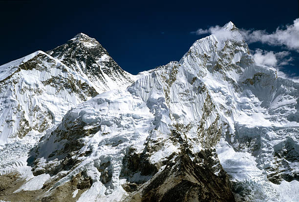 Mount Everest stock photo