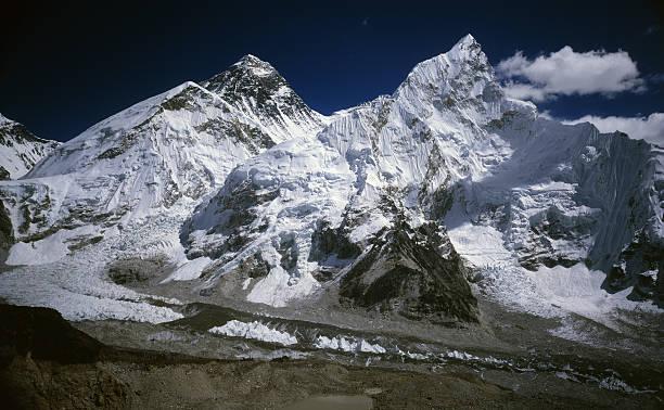 Mount Everest. stock photo