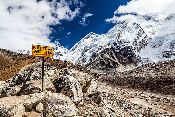 Mount Everest Wegweiser – Foto