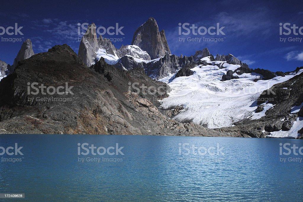 Mount Fitz Roy royalty-free stock photo