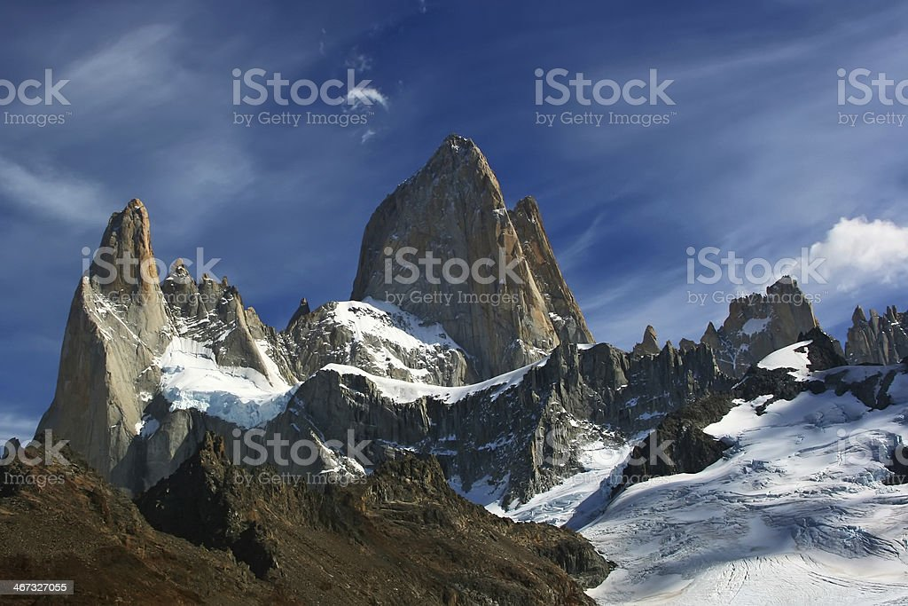 Mount Fitz Roy - Royalty-free Andes Stock Photo