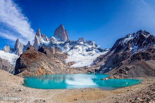 Argentina, Chalten, Famous Place, Lake, Mt Fitzroy