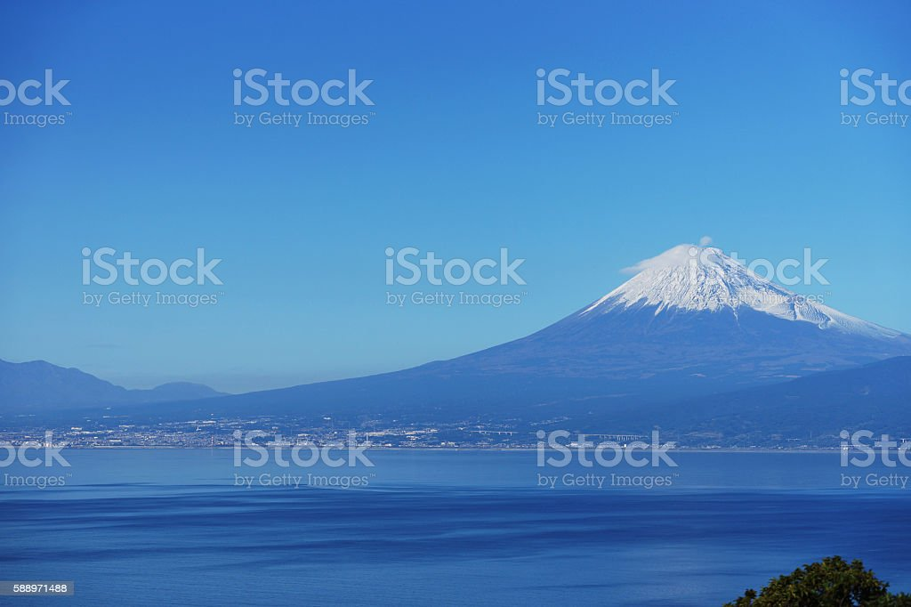 Mount Fuji which I watched from Izu Peninsula – Foto