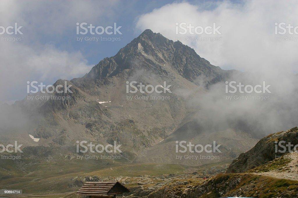 Mount Givia royalty-free stock photo