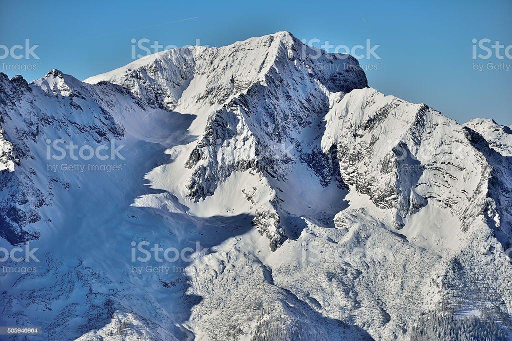 Mount great Priel 'Großer Priel' in Upper Austria stock photo