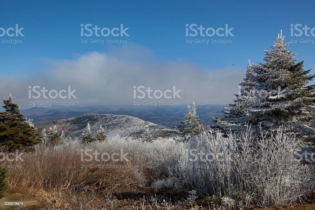 Mount Greylock stock photo