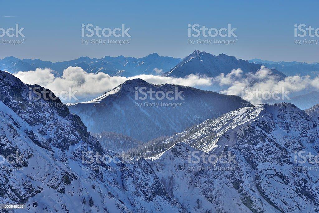 Mount Grimming in Styria/Austria stock photo