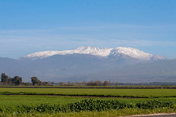 Mount Hermon, Israel stock photo