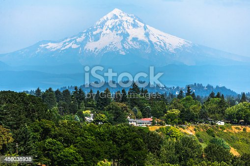 Mount Hood from Portland, Oregon