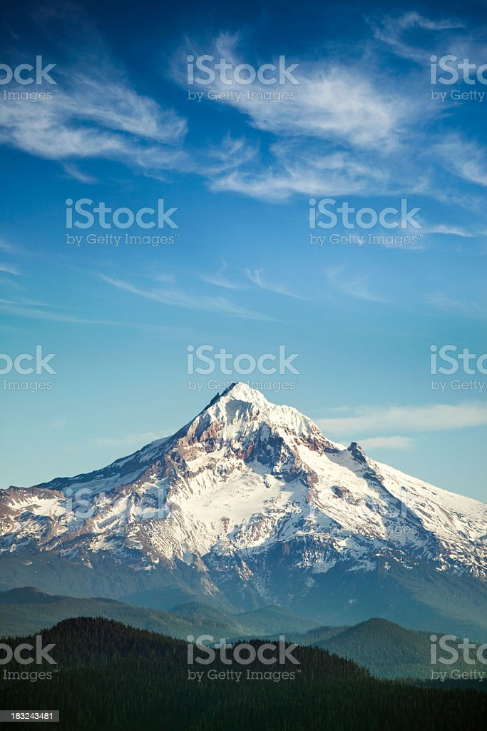 Mount Hood, Oregon State royalty-free stock photo