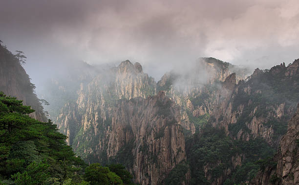 Gebirge Huang Shan – Foto