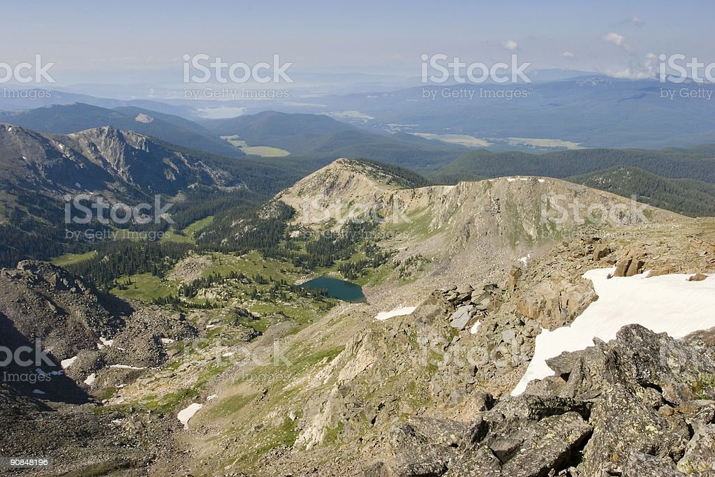 Mount Ida View royalty-free stock photo