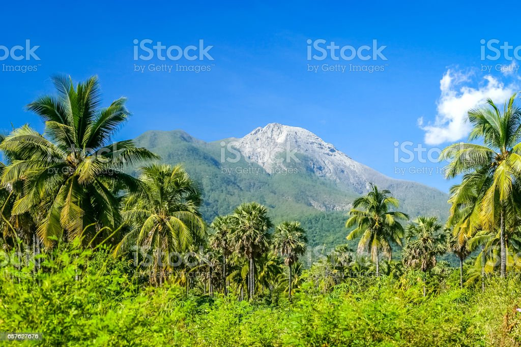 Mount Ile Api stock photo