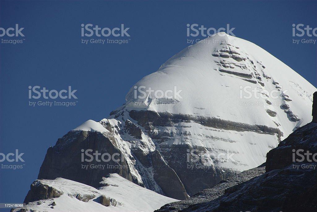 Mount Kailash (Gang Rinpoche, Tibet) royalty-free stock photo