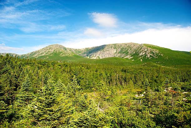 Mount Katahdin, Baxter State Park, Maine stock photo
