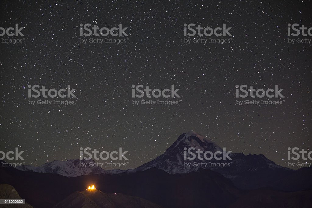 Mount Kazbek is Europe\'s 5th highest peak, standing tall at 5047...