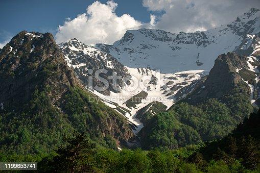 istock Mount Kazbek, Georgia 1199653741
