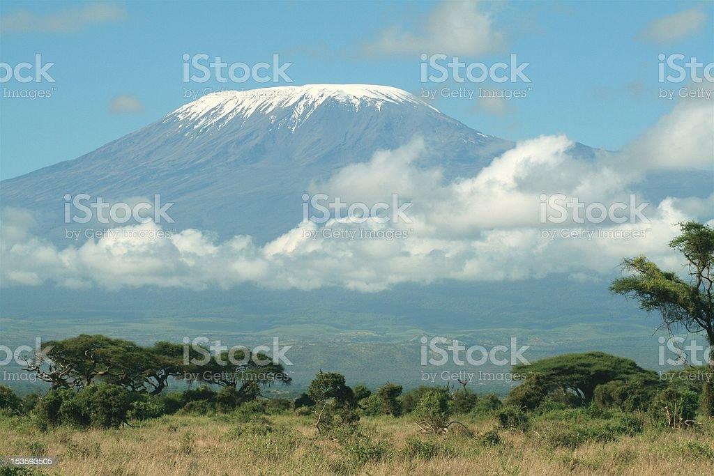 Mount Kilimanjaro, Tanzania royalty-free stock photo