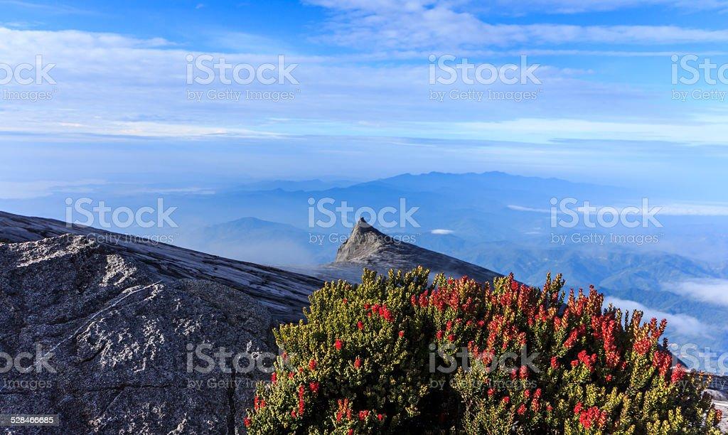 Mount Kinabalu,Sabah state , Malaysia stock photo
