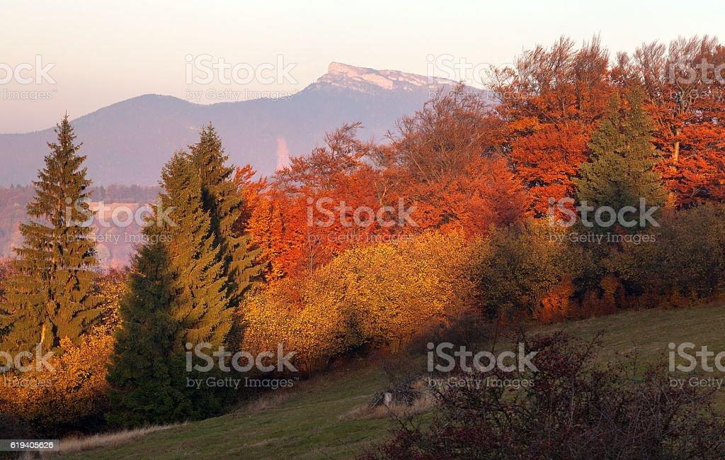 mount Klak, Mala Fatra, Strazovske vrchy, Slovakia stock photo