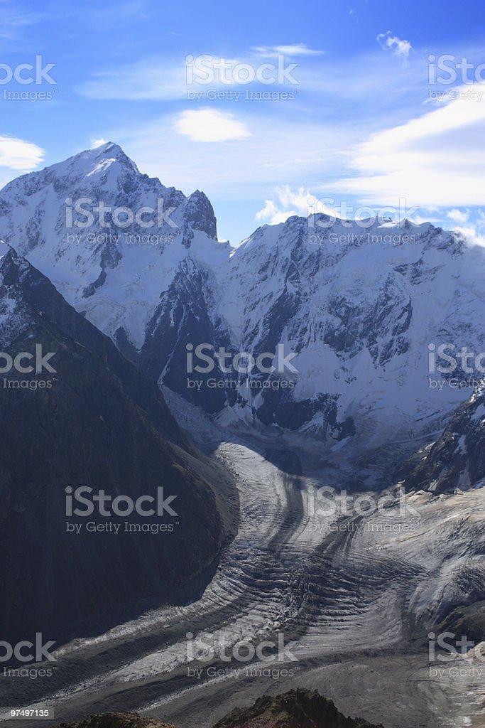 Mount Koshtan-tau royalty-free stock photo