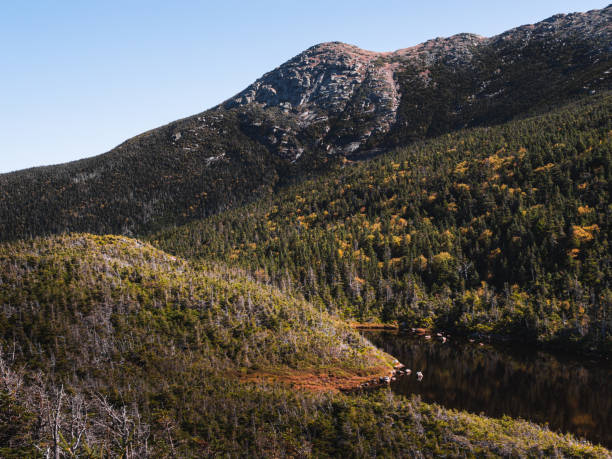 Mount Lafayette stock photo