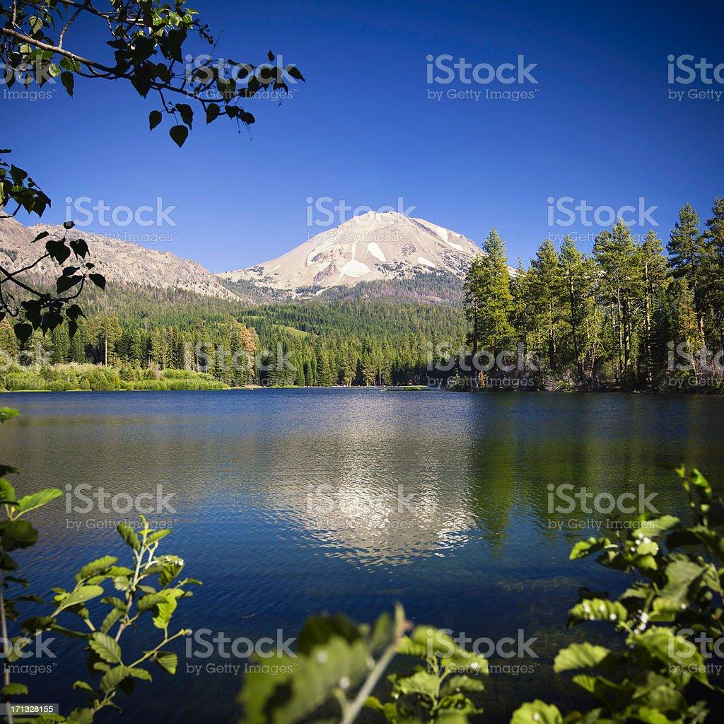 Mount Lassen royalty-free stock photo
