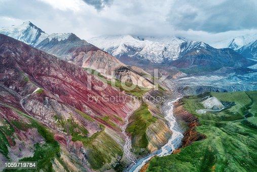 istock Mount Lenin seen from Basecamp in Kyrgyzstan taken in August 2018 1059719784