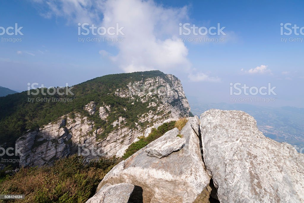 Mount Lu stock photo