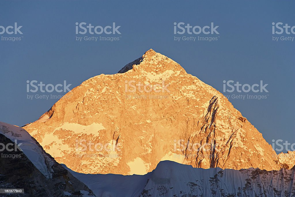Mount Makalu royalty-free stock photo