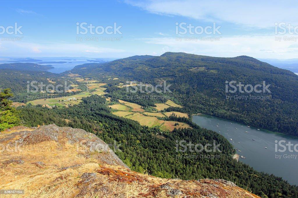 Mount Maxwell stock photo