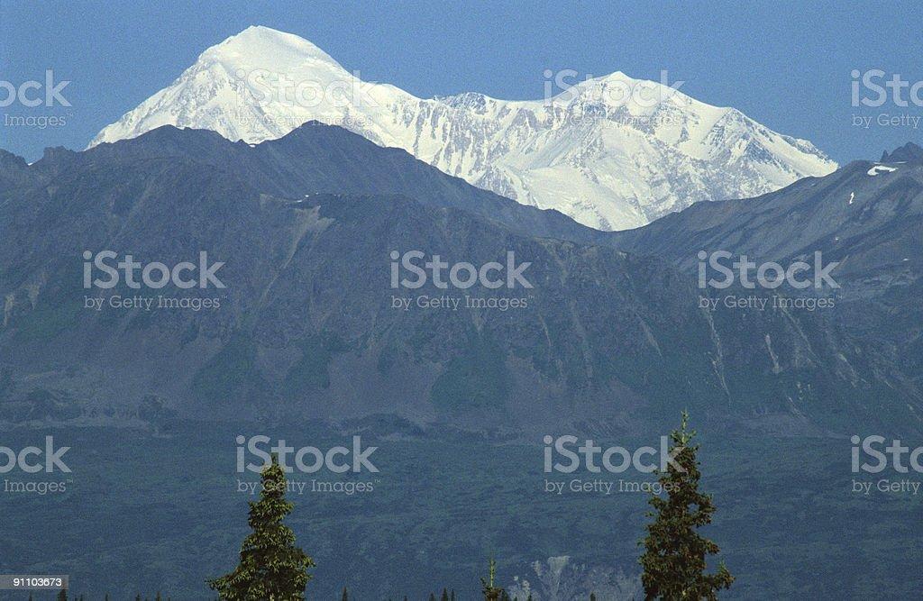 Mount Mckinley, Alaska stock photo