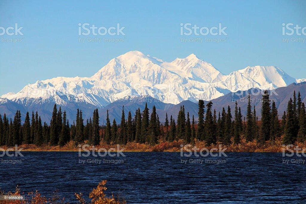 Mount McKinley, Denali National Park stock photo