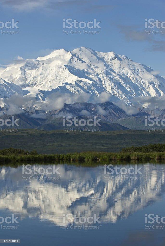 Mount McKinley stock photo