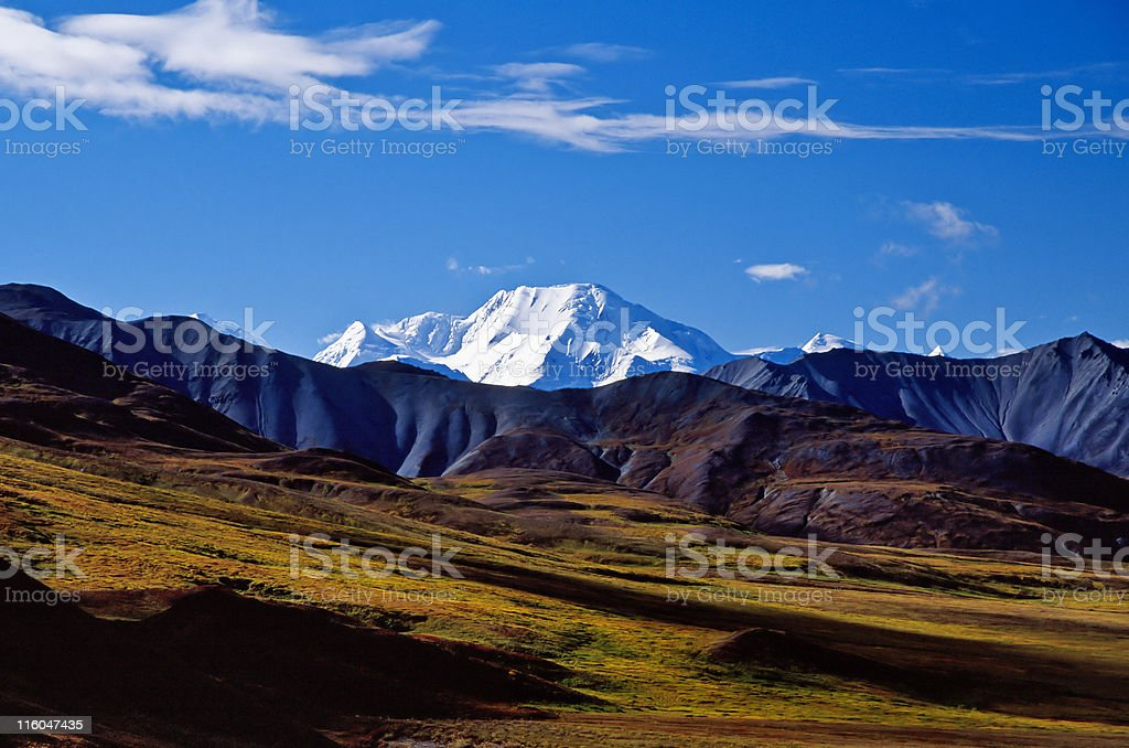 Mount Mckinley ridge royalty-free stock photo