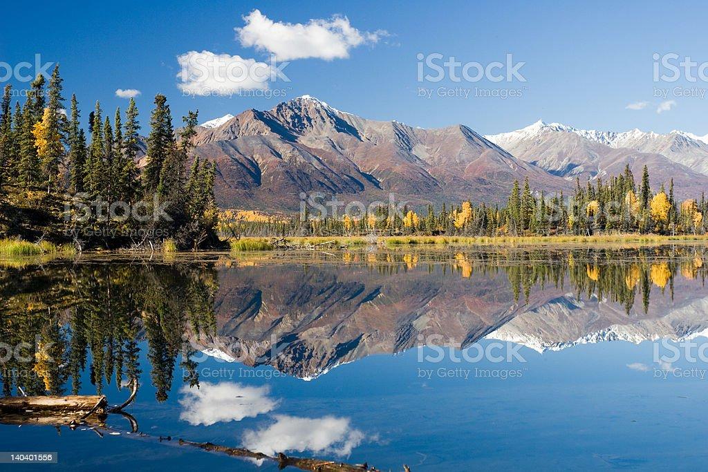 Mount Mentasta - Alaska stock photo
