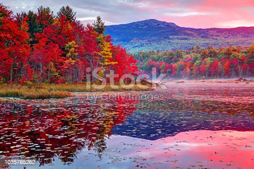 Mount Monadnock, or Grand Monadnock, is a mountain in the New England state of New Hampshire