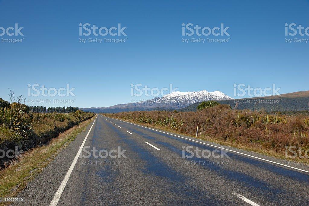 Berg Mount Ngongotaha in Tongariro National Park, Neuseeland. – Foto