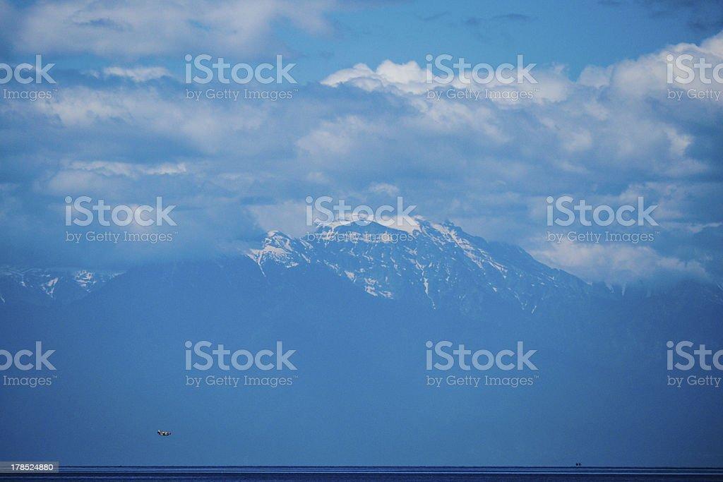 Mount Olympus royalty-free stock photo