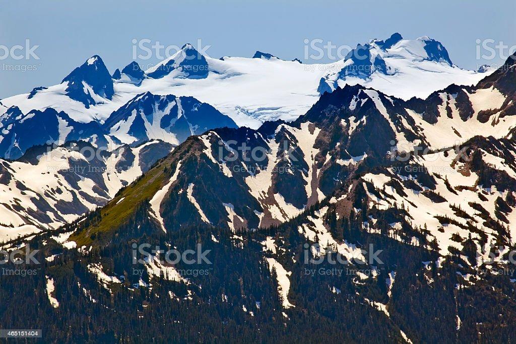 Olymp Snow Mountains Hurricane Ridge Olympic-Nationalpark Washington – Foto