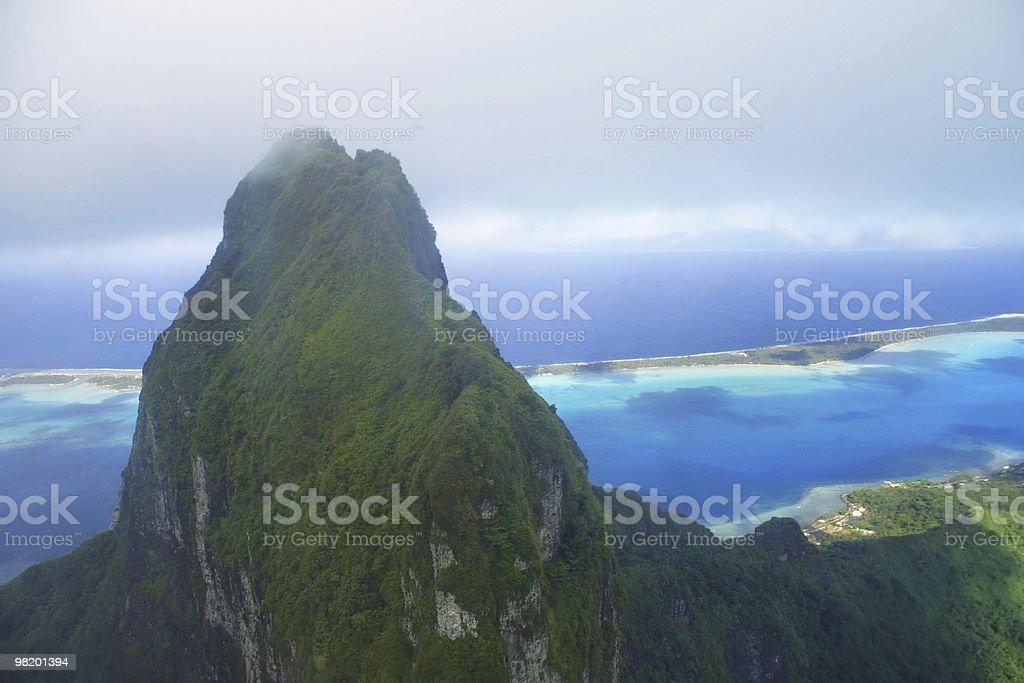 Mount Otemanu royalty-free stock photo