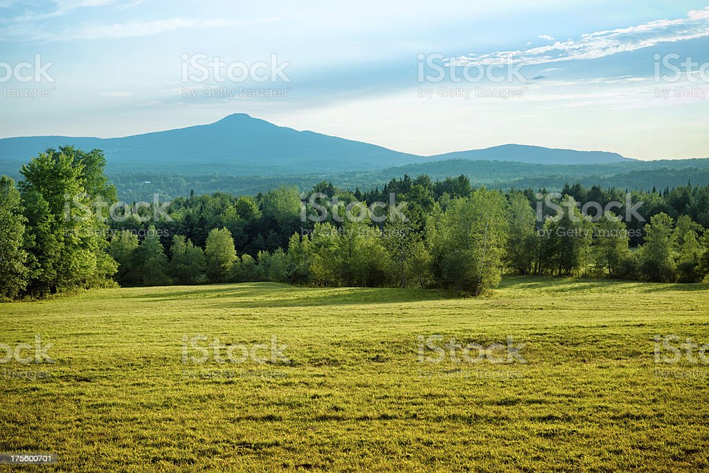 Mount Pinacle from Scenic Drive, Sutton stock photo