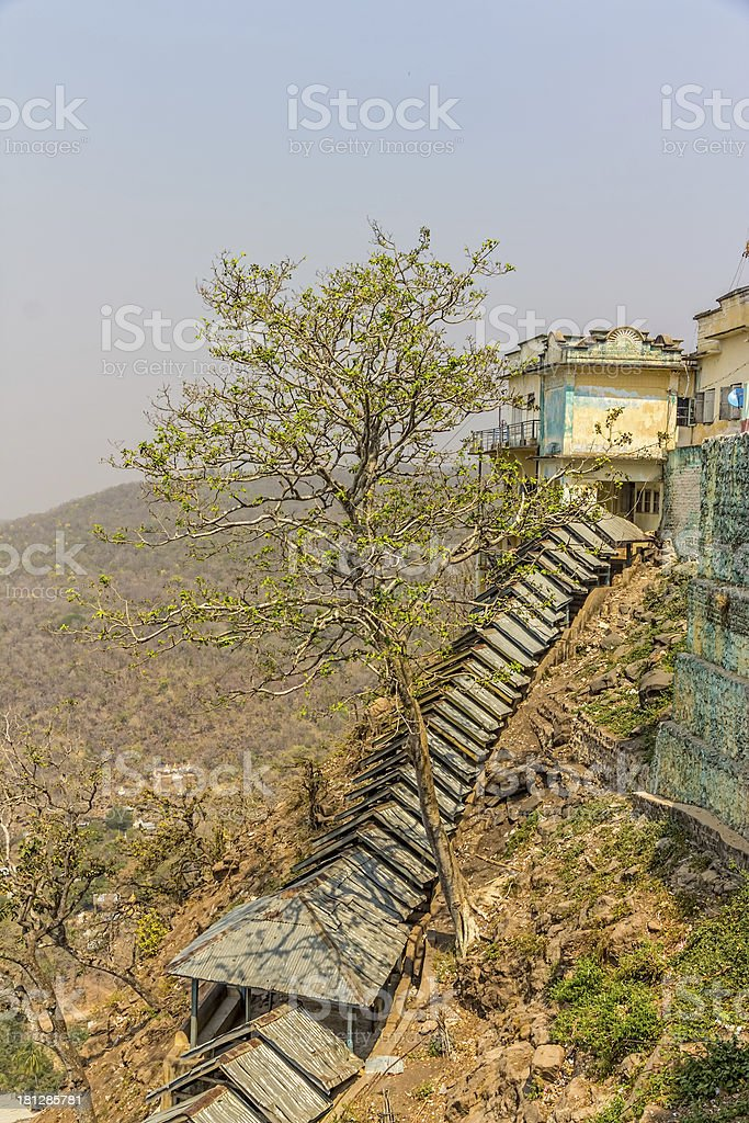 Mount Popa royalty-free stock photo